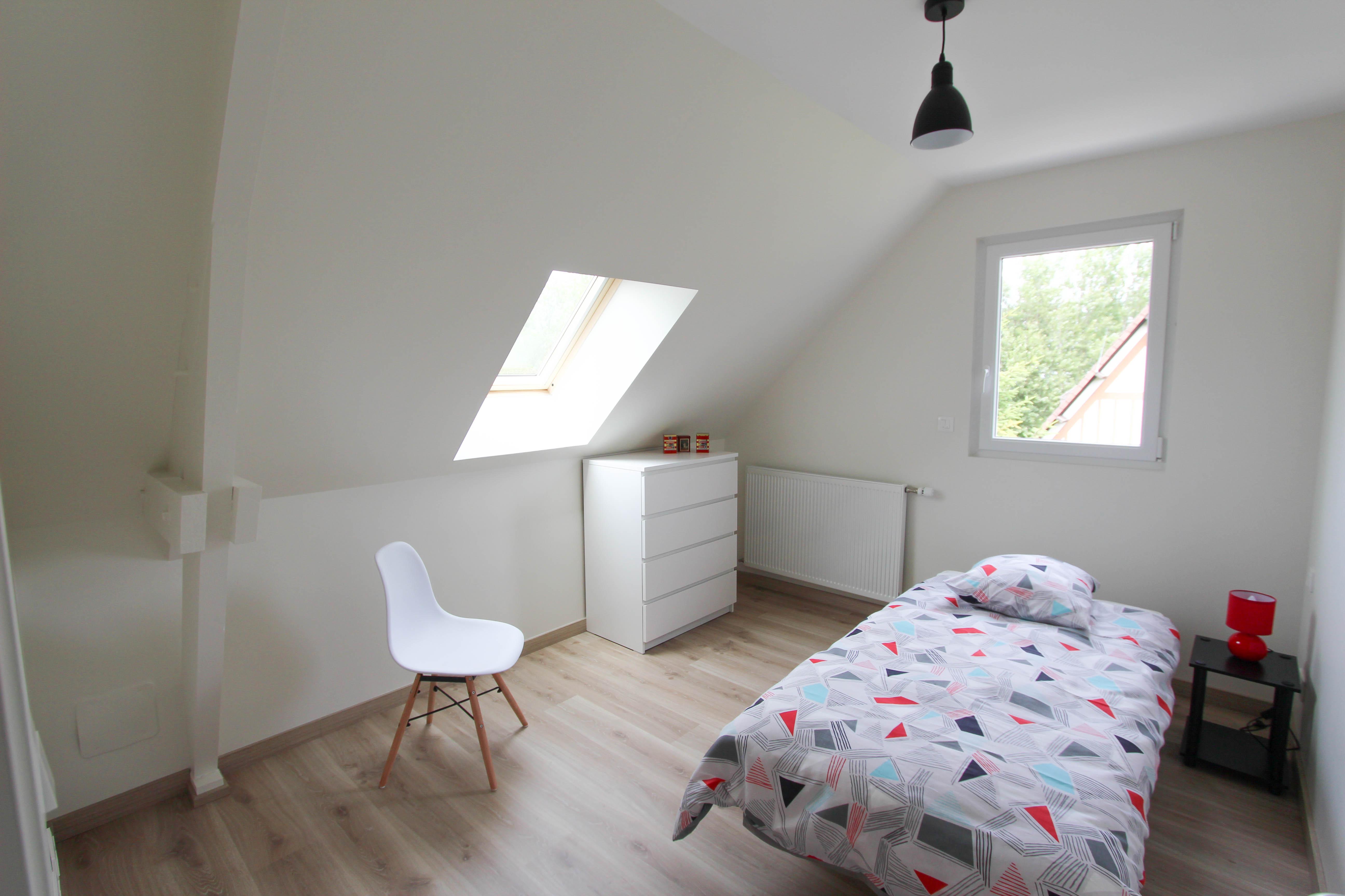 chambre enfant étage de la villa rubis location gîte varengeville-sur-mer pourville-sur-mer