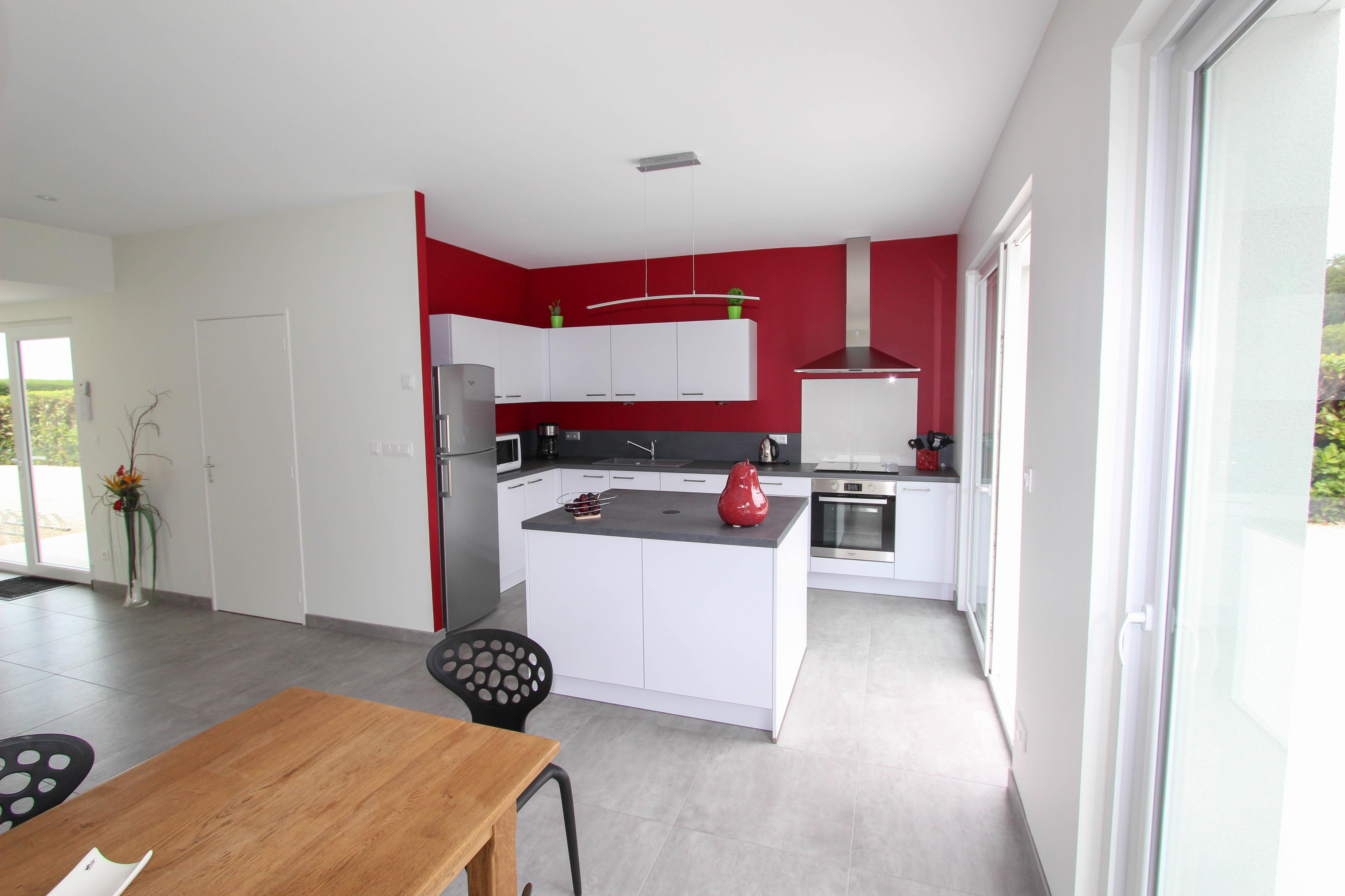 cuisine de la villa rubis location gîte varengeville-sur-mer pourville-sur-mer