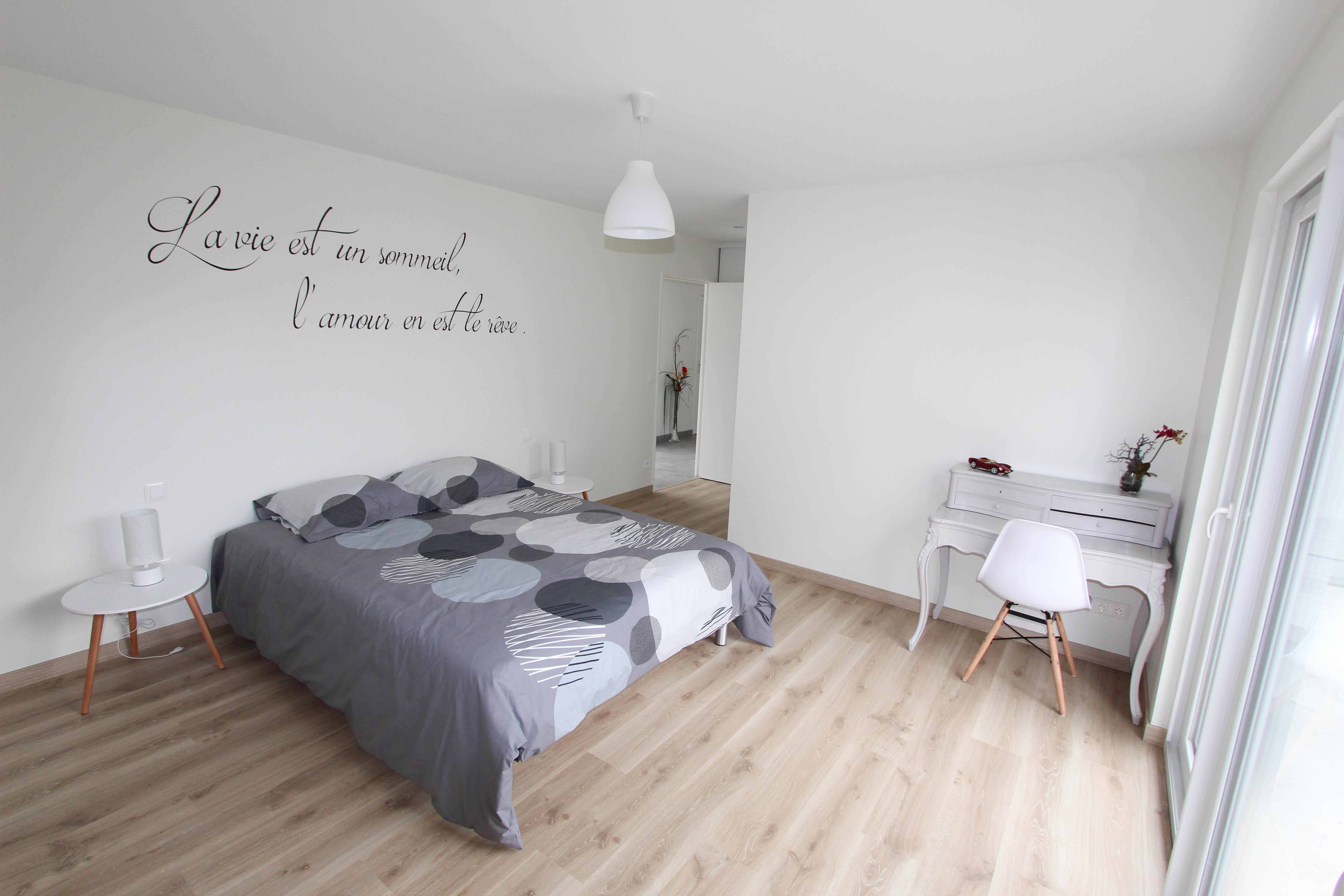 suite parentale rez de chaussé de la villa rubis location gîte varengeville-sur-mer pourville-sur-mer
